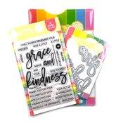 Oversized Grace & Kindness Combo - Waffle Flower Crafts
