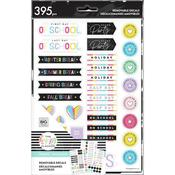 Happy In Action Happy Planner Dry Erase Removable Decals Mega Pack