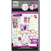 Florals Happy Planner Teacher Sticker Value Pack