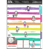 Stick Girl Hooray Happy Planner 4-Month Undated Big Planner Extension Pack - PRE ORDER