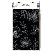 Neutral Florals Happy Planner Classic Banded Pen Pouch - PRE ORDER
