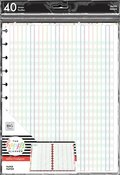 Teacher Checklist Happy Planner Big Planner Fill Paper - PRE ORDER