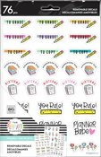 Stick Girl Happy Planner Dry Erase Removable Decals - PRE ORDER