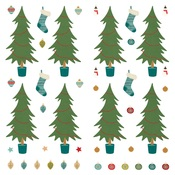Trim A Tree Paper - The North Pole Trading Co. - Photoplay