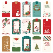 Tags Die Paper - The North Pole Trading Co. - Photoplay