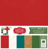 The North Pole Trading Co. Solids Paper Pack - Photoplay