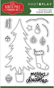 The North Pole Trading Co. Trim a Tree Stamp Set - Photoplay
