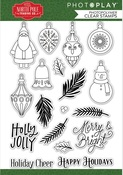 The North Pole Trading Co. Deck the Halls Stamp Set - Photoplay