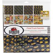 Food Truck Fest 12x12 Collection Kit - Reminisce - PRE ORDER