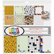 Game Night 12x12 Collection Kit - Reminisce - PRE ORDER