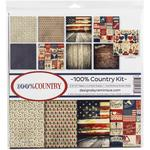 100% Country 12x12 Collection Kit - Reminisce - PRE ORDER