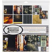One Bourbon, One Scotch, One Whiskey 12x12 Collection Kit - Reminisce - PRE ORDER