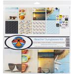 Beachin' Sunglasses 12x12 Collection Kit - Reminisce - PRE ORDER