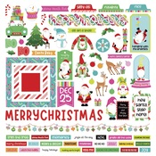 Tulla & Norbert's Christmas Party Element Sticker Sheet - Photoplay