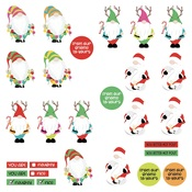 Gnomies Dies Paper - Tulla & Norbert's Christmas Party - Photoplay - PRE ORDER