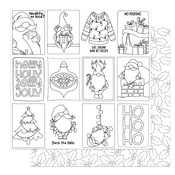 Color Me Cards Paper - Tulla & Norbert's Christmas Party - Photoplay