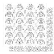 Color Me Ugly Sweaters Paper - Tulla & Norbert's Christmas Party - Photoplay - PRE ORDER