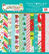 Tulla & Norbert's Christmas Party 6x6 Paper Pad - Photoplay