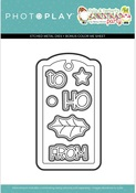 Tulla & Norbert's Christmas Party - Tag Die - Photoplay - PRE ORDER