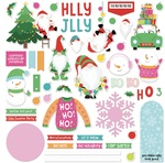 Tulla & Norbert's Christmas Party Card Kit Sticker - Photoplay - PRE ORDER