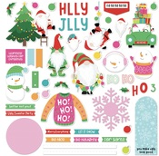 Tulla & Norbert's Christmas Party Card Kit Sticker - Photoplay
