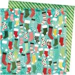 Stockings Paper - Warm Wishes - Vicki Boutin