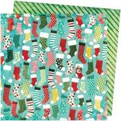 Stockings Paper - Warm Wishes - Vicki Boutin - PRE ORDER