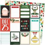 Hello December Paper - Warm Wishes - Vicki Boutin