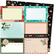 Happy Holidays Paper - Warm Wishes - Vicki Boutin - PRE ORDER