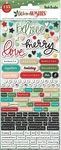 Warm Wishes Embossed Puffy Stickers - Vicki Boutin - PRE ORDER