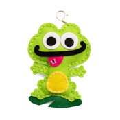 Frog Felt Keychain Kit - Sew Cute - Colorbök