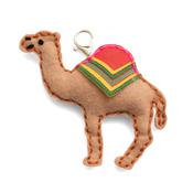 Camel Felt Keychain Kit - Sew Cute - Colorbök