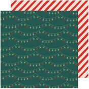 Holiday Glow Paper - Busy Sidewalks - Crate Paper