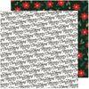 Christmas Greetings Paper - Busy Sidewalks - Crate Paper