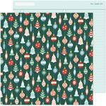 Deck The Halls Paper - Busy Sidewalks - Crate Paper