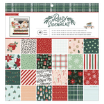 Busy Sidewalks 12x12 Paper Pad - Crate Paper