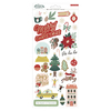 Busy Sidewalks 6x12 Cardstock Stickers - Crate Paper