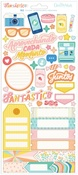 Fantástico Accent & Phrase Cardstock Stickers - Obed Marshall - PRE ORDER