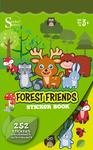 Forest Friends Sticker Book - Silver Lead