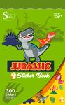 Jurassic Sticker Book - Silver Lead