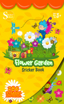 Flower Garden Sticker Book - Silver Lead