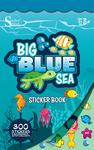 Big Blue Sea Sticker Book - Silver Lead