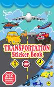 Transportation Sticker Book - Silver Lead