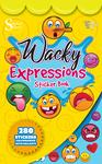 Wacky Expressions Sticker Book - Silver Lead
