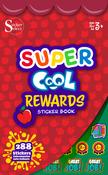 Super Cool Rewards Sticker Book - Silver Lead