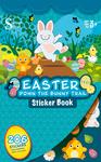 Easter Bunny Trail Sticker Book - Silver Lead