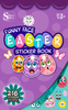 Easter Funny Faces Sticker Book - Silver Lead
