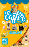 Easter Pets Sticker Book - Silver Lead