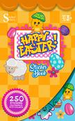 Happy Easter Sticker Book - Silver Lead