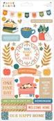 Bungalow Lane Sticker Sheet - Paige Evans